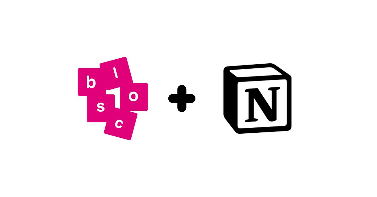 blocs | notion widgets for habit building